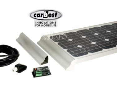 solaranlage wohnmobil 1x100 watt carbest cb 100b set 851060. Black Bedroom Furniture Sets. Home Design Ideas